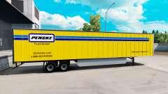 Penske la piel para el remolque para American Truck Simulator