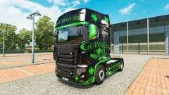 Guinness de la piel para el camión Scania R700 para Euro Truck Simulator 2