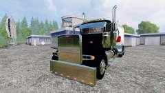 Peterbilt 379 [feed truck]