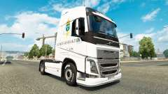 Forsvarsmakten de la piel para camiones Volvo para Euro Truck Simulator 2