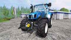 New Holland T6.160 [real engine]