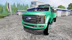 Ford F-450 Super Duty 2017 [platinum edition]