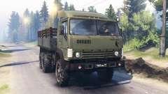 KAMAZ-4310 [twin turbo] para Spin Tires