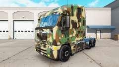 La piel del Ejército en el camión Freightliner Argosy para American Truck Simulator