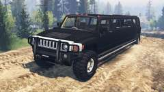 Hummer H3 [limousine] para Spin Tires