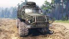 Ural-4320М para Spin Tires