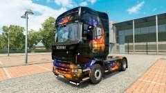 El Color de la piel en la Pared tractor Scania para Euro Truck Simulator 2