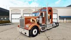 La piel de Los Osos Den en el camión Kenworth W900 para American Truck Simulator