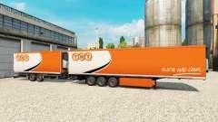 Semi-remolque Krone Gigaliner [TNT] para Euro Truck Simulator 2
