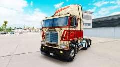 La piel en Sherman Bros camión Freightliner FLB para American Truck Simulator