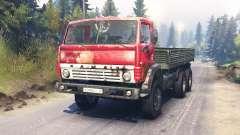 KamAZ-54102 para Spin Tires
