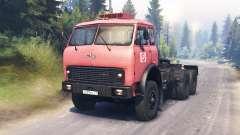 MAZ-515Б para Spin Tires