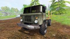 GAZ-66 [de madera]
