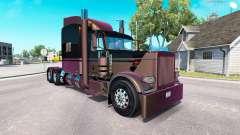 4 Metálico de la piel para el camión Peterbilt 389 para American Truck Simulator