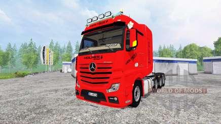 Mercedes-Benz Actros MP4 SLT para Farming Simulator 2015