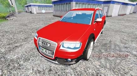Audi A6 (C6) Allroad para Farming Simulator 2015