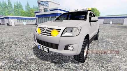 Toyota Hilux [convoi agricole] para Farming Simulator 2015