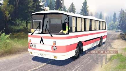 LAZ-699R para Spin Tires