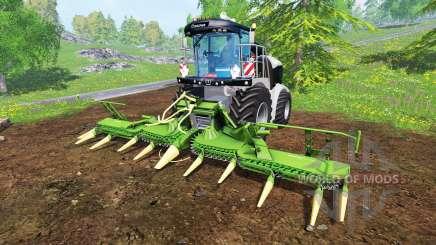 Krone Big X 580 [black] para Farming Simulator 2015