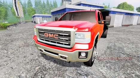 GMC Sierra [dump] para Farming Simulator 2015