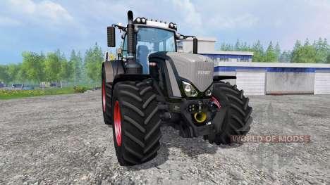 Fendt 939 Vario S4 Black Beauty para Farming Simulator 2015
