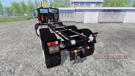 Mercedes-Benz Unimog U2450 8x8 HKL para Farming Simulator 2015