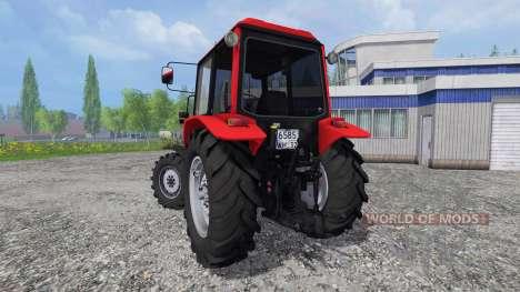 MTZ-Bielorrusia 1025.4 para Farming Simulator 2015