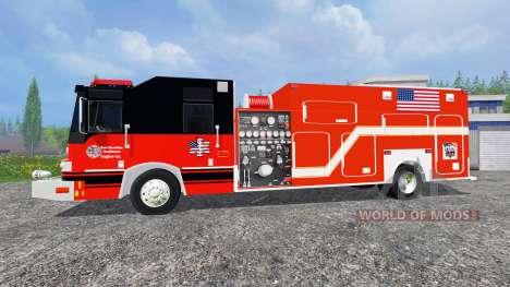U.S Fire Truck para Farming Simulator 2015