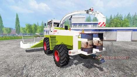CLAAS Jaguar 685 [washable] para Farming Simulator 2015