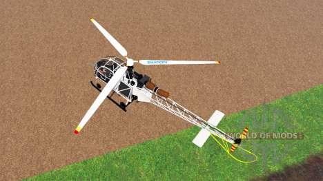Sud-Aviation Alouette II v2.0 para Farming Simulator 2015