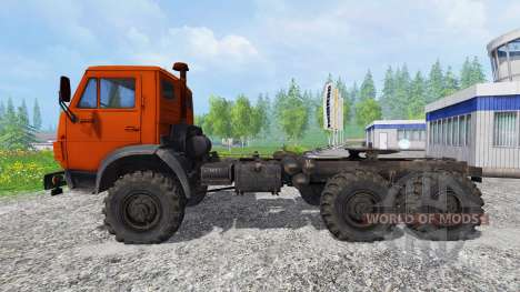 KAMAZ-4310 para Farming Simulator 2015