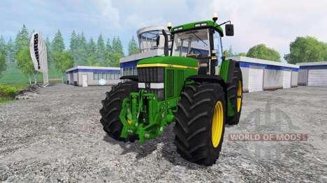 John Deere 7810 [washable] v2.1 para Farming Simulator 2015