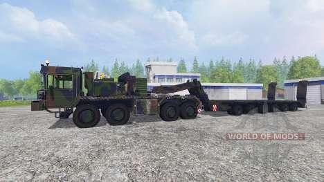 FAUN SLT 56 Franziska para Farming Simulator 2015