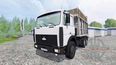 MAZ-55516 para Farming Simulator 2015