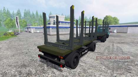 Kraz-6233М6 para Farming Simulator 2015