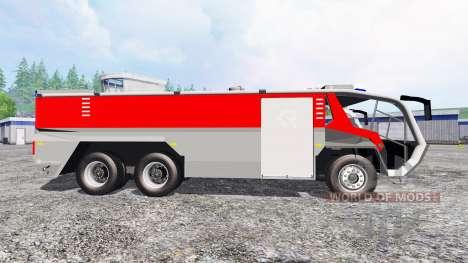 Rosenbauer Panther 6x6 CA5 v1.1 para Farming Simulator 2015