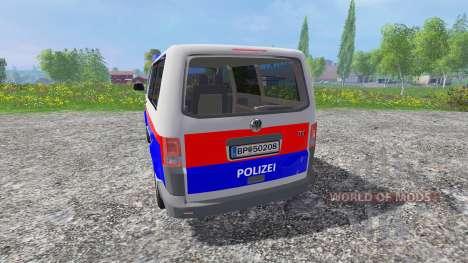 Volkswagen Transporter T5 Police para Farming Simulator 2015