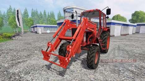 MTZ-82 FL para Farming Simulator 2015