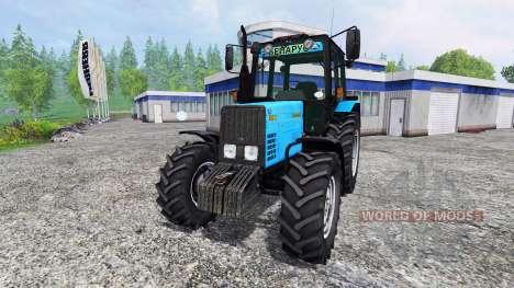 MTZ-892.2 Belarús v2.0 para Farming Simulator 2015