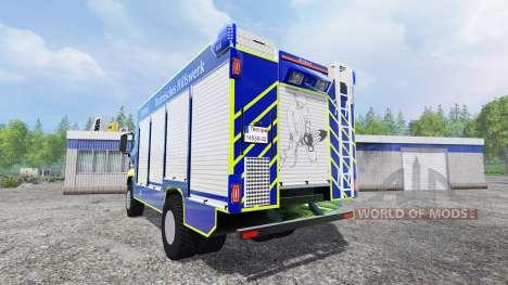 MAN TGM Technisches Hilfswerk para Farming Simulator 2015