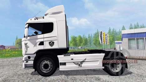 Scania R730 Streamliner v2.0 para Farming Simulator 2015
