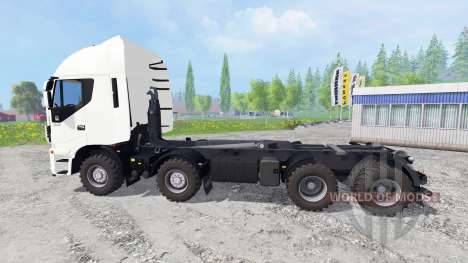 Iveco Stralis Hi-Way 8x8 para Farming Simulator 2015