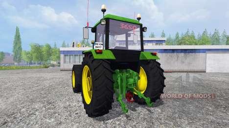John Deere 3650 para Farming Simulator 2015