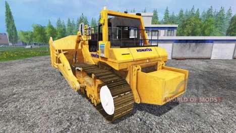 Komatsu D575A para Farming Simulator 2015