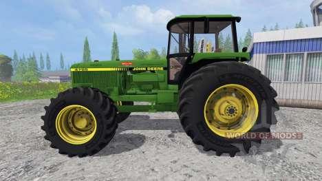 John Deere 4755 v2.2 para Farming Simulator 2015