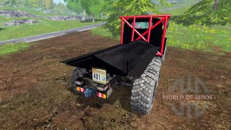 Ural-375-Vida-De-Un-Cola para Farming Simulator 2015