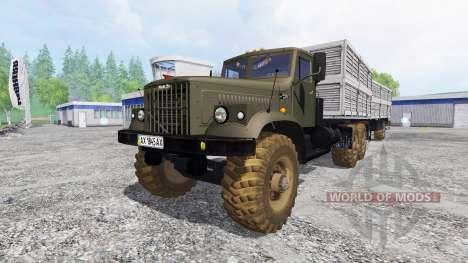 KrAZ-256 v2.1 para Farming Simulator 2015