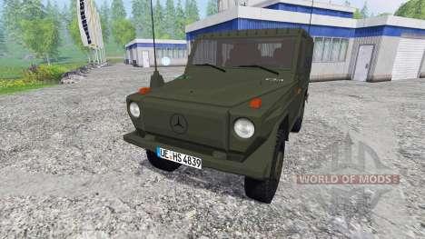 Mercedes-Benz 250 GD (W460) Wolf para Farming Simulator 2015