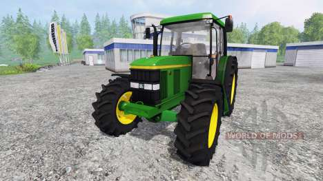John Deere 6410 SE para Farming Simulator 2015