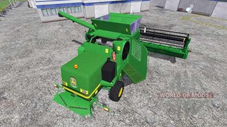 John Deere T670i para Farming Simulator 2015